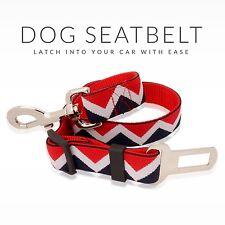 Dog Seat Belt by Furbaby - 1 Pack Premium Car Restraint Adjustable Nylon Fabric