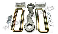 "Lift Kit Chevy Front Torsion Keys Rear 4"" Blocks 1999 - 06 Silverado Sierra 4x4"