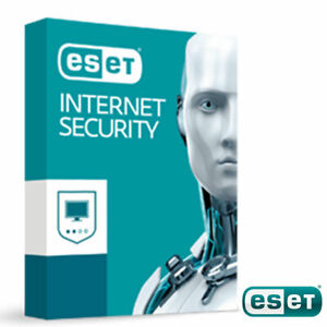 ESET Internet Security - 1 PC 3 Years 2021 Windows New Sealed Worldwide