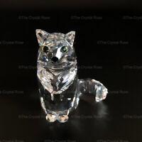 RARE Retired Swarovski Crystal Cat Sitting 160799 Mint Boxed