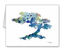 BONZAI TREE Note Cards With Envelopes