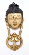 Buddha Door Knocker Buddhism Collectibles Solid Brass Tibet Home Decor New