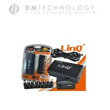 ALIMENTATORE UNIVERSALE NOTEBOOK 120W USB TOSHIBA HP ASUS SONY ACER Linq IT-120W