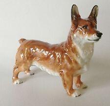 """Rare ROYAL DOULTON Bone China CORGI Dog HN 2558 Medium 5"""" by Frederick Daws"""