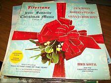 Your Favorite Christmas Music-Jack Jones-Roberta Peters-LP-Vinyl Record-VG+