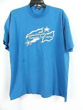 Women's Henry Ford t-shirt size XL blue A08 Preowned!