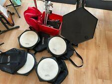 SIMMONS BPSP-4 PADSET, 4 HEXAPADS Naturfell, Bassdrum SDS Drums, Trigger Pads !