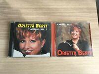 Orietta Berti - Il Meglio...Vol.1+Vol.2 - 2 x CD Album -2000 Fuori Catalogo RARI