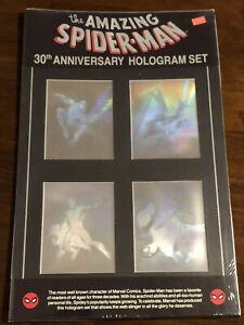 1992 The Amazing Spider-Man 30th Anniversary Hologram Set SEALED