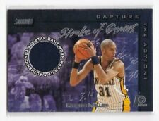REGGIE MILLER ALL STAR RELIC JERSEY CARD DEPATURE