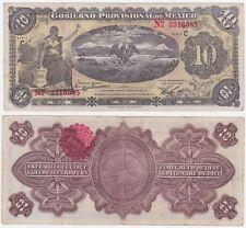 Mexico Revolutionary P S1108 a - 10 Pesos 1914 - VF