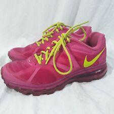Nike Air Max 2012 (GS) Desert Pink/Atomic Green-Rave Pink 7Y 488124-601