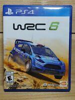 WRC 6 (Sony PlayStation 4, 2017) PS4 World Rally Championship 2016 Racing Game