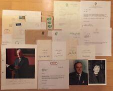 IRELAND Autograph Collection/Presidents,Prime Ministers,Politicians, Photos....