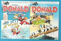 Donald Duck von Carl Barks Entenhausen - Edition Band 49 + 50 ungelesen 1A