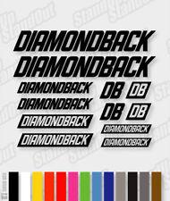 DIAMONDBACK Die-cut Decal Sticker sheet (cycling, mtb, bmx, bike, frame) - V6