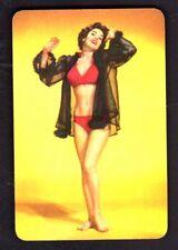 Vintage Swap/Playing Card - Pin Up Girl