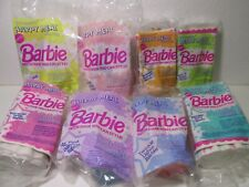 McDonald's Set Of 8 Mattel Barbie Hair You Can Style Happy Meal Toy 1992 t4747