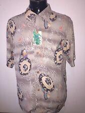Men's Sun Surf toyo 100%rayon crepe Hawaiian shirt large