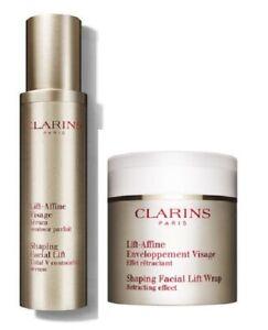 Clarins Shaping Facial Lift Set  - New - valued more than $162 + bonus