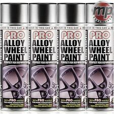 4 ETech PRO Alloy Wheel Refurbish & Refresh Spray Paint - Metallic Graphite Grey