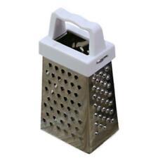 4 Sides Stainless Steel Box Handheld Cheese Carrot Food Grater Slicer Shredder