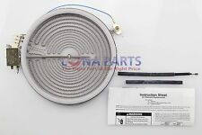 Genuine 12002144 Whirlpool Range Stove Dual Radiant Surface 74004556 W10823709