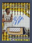 BUDDY HIELD 2016-17 SPECTRA GOLD AUTOGRAPH PATCH AUTO ROOKIE RC SP # / 10 KINGS