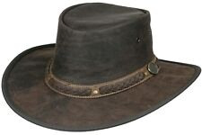 Australian leather hat - KANGAROO SUNDOWNER westren aussie cowboy