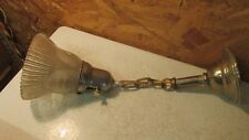 Antique Nickel Finish Single Light Fixture No. 3