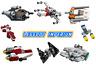 Lego Star Wars mini starships - Christmas 2020 razorcrest falcon xwing FREE POST