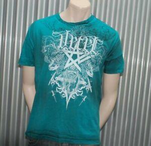 Ve'cel Vintage T-Shirt Turquoise Chester Bennington Linkin Park Vecel XXL