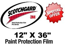 "Bulk Roll Film 12"" X 36"" Genuine 3M PRO-SERIES Paint Protection Clear Bra"