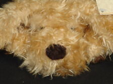 New Vintage Russ Caress Soft Pats Gusto Blonde Puppy Dog Plush Stuffed Animal