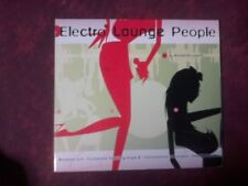 COMPILATION - ELECTRO LOUNGE PEOPLE (15 TRACKS). CD.