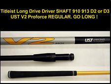 Titleist Long Drive Driver SHAFT 917 915 913 910 UST V2 Proforce R REGULAR