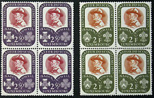 LUXEMBOURG timbres/Stamps Yvert et Tellier n°526 et 527 x4 n** (cyn8)