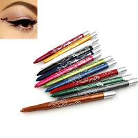 Style 12 Color Pro Eye Shadow Lip Liner Eyeliner Pen Pencil Makeup New