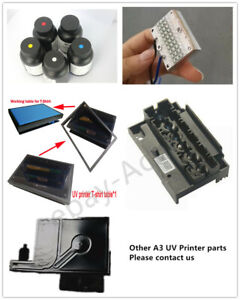 EPSON1390 Printer Nozzel T-shirt Table UV INK UV LED Damper Parts for A3 Printer