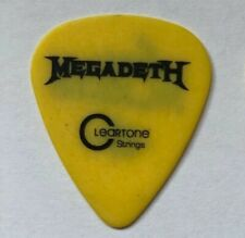 Dave Mustaine MEGADETH Guitar Pick Dystopia Tour 2015