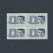 John F. Kennedy 35th President Vintage Mint Set of 4 Stamps 53 Years Old!