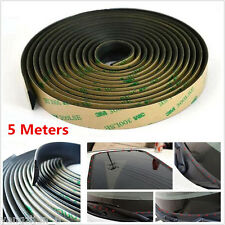 Waterproof 5M Seal Strips Trim For Car Windshield Sunroof Triangular Window Seal