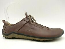 Vivo Barefoot Brown Leather Casual Lace Up Driving Oxfords Shoes Women's 6