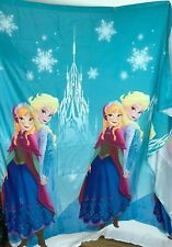 Disney Frozen Anna and Elsa Shower Curtain Girls Bathroom Decor