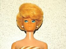Barbie: Vintage Blonde European Sidepart Bubblecut Barbie Doll!