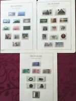 WEST GERMANY (BRD) 1987: 37stamps MNH** VF 3 album pages