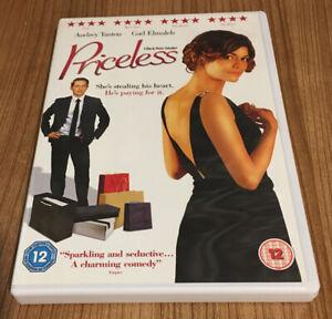 Priceless DVD (2008) Audrey Tautou Cert 12 Region 2 UK Amazing Value