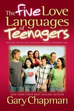The Five (5) Love Languages of Teenagers book by Gary Chapman FREE USA SHIPPING