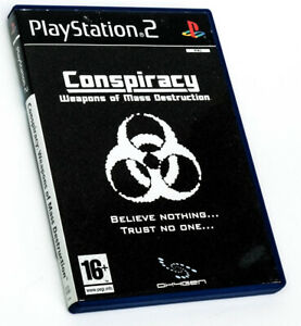 Conspiracy Complete With Manual , Sony Playstation 2, Ps2