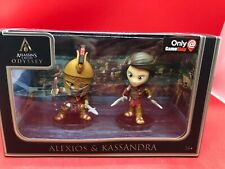Assassins Creed Odyssey: Alexios And Kassandra Collector Figures GameStop Exclus